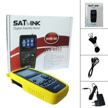 Satlink WS-6933 satfinder satellite finder satlink WS6933 2.1 Inch LCD Display DVB-S FTA C&KU BandMeter