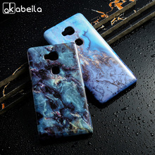 Hard Plastic Marble Phone Cases For Huawei GR5 Honor 5X Honor Play 5X Honor5X Durable Shell Cover Cases