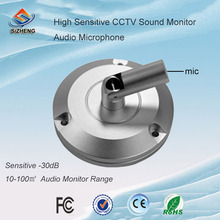 SIZHENG COTT-S6 CCTV microphone high sensitive audio listening devices low noise sound monitor for security camera system