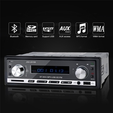12V Stereo Bluetooth Car Audio MP3 Player USB FM Radio Tuner SD AUX Media Player Hand-free With Microphone Mobile Phone Charging(China)