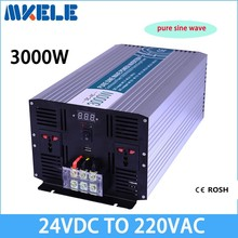 MKP3000-242B best quality dc ac off grid solar inverter 3kw 24v to 220vac inverter 3000w power inverter pure sine wave form