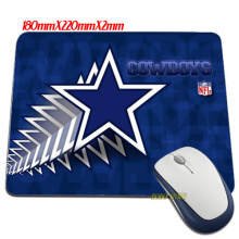 Funny item Luxury Dallas Cowboys wallpaper images Mouse Mats Anti-Slip Rectangle Mouse Pad