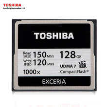 TOSHIBA 128GB 64GB 32GB Hi-Speed CF Memory Card 1000X High speed Compact Flash CF Card Applicable Digital Cameras/DSLR Cameras