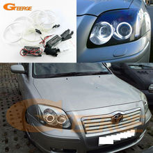 For Toyota Avensis T25 2003 2004 2005 Excellent Ultra bright illumination CCFL Angel Eyes kit Halo Ring