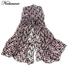 Winter New  fashion scarf women all-match chiffon oblong chiffon shawl skull printing scarves wraps long echarpe girl gifts