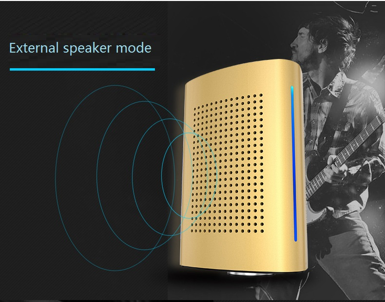 New ADIN V8 Vibration Speaker 36W Bluetooth Speakers Wireless Subwoofer NFC Stereo 3D Surround Touch Computer Phone Speaker (7)