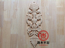 Don't forget the wooden Dongyang wood carving wood doors flower flower background wall decoration center window wardrobe door fl(China)