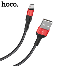 HOCO USB C Cable Samsung S9 S8 2A USB Type C Fast Charge Cable Xiaomi Mi 8 A1 Huawei Data Sync USBC Cord Charger Tipe C