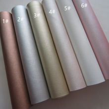 30 x 134cm PU leather fabric faux leather synthetic leather material mini roll for DIY fabric BH080(China)