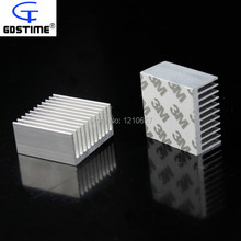 10Pcs lot Aluminum Radiator Heat Sink Heatsink 40mm x 40mm x 20mm