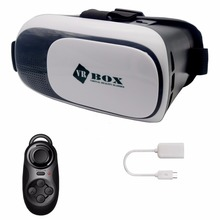 CK 2017 VR box 3D Virtual Reality Glasses 4.2 Version for  4~6 inch Smartphones Samsung xiaomi iPhone for 3D Movies and Games