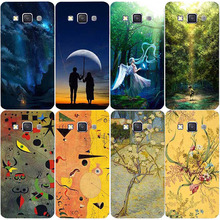 Fashion Oil Surrealism Painting PC Case For Samsung Galaxy S3 I9300 / S3 Duos i9300i /S3 Neo i9301 Cute Angel Protective Cover