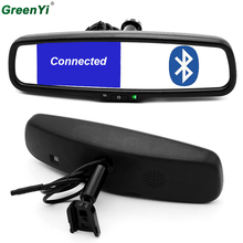 Original Bracket 4.3 Inch 800*480 Car RearView Mirror Rear View Monitor 2 Video Input For Rear Camera + Bluetooth/FM/Speaker/Mic