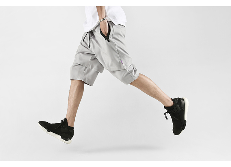 Body Engineers Baggy Mens Long Cargo Shorts Hip Hop (16)