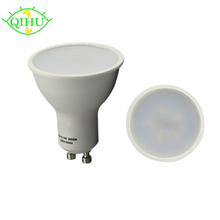 GU10 Bulbs Led Spotlights 220v Dimmable Indoor Lamps Real 3W 5W Down Lights Aluminum+pc(China)