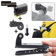 Buy Jacqueline Bag Cap Clip Mount Sony Action Camera Hdr-as15 As20 As30v As50 As100v As200v Hdr-az1 Mini Fdr-x1000v for $6.00 in AliExpress store