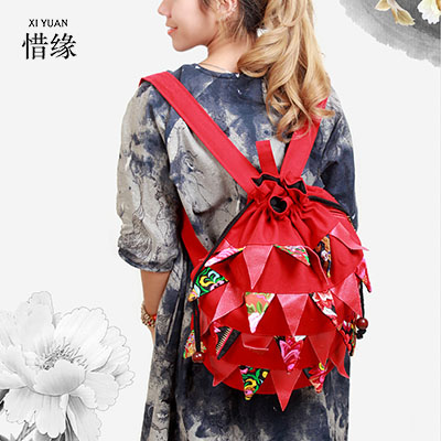 XIYUAN BRAND  Ethnic Embroidered Backpack for Girls Folk Ladies Flower Embroidery Backpack Small Back Pack Womens Casual bags<br><br>Aliexpress