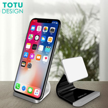 TOTU Universal Mobile Phone Desk Holder Stand For iPhone X 8 7 6 6S Plus Samsung Note 8 S8 S7 S6 Edge Tablet PC Desktop Holder(China)