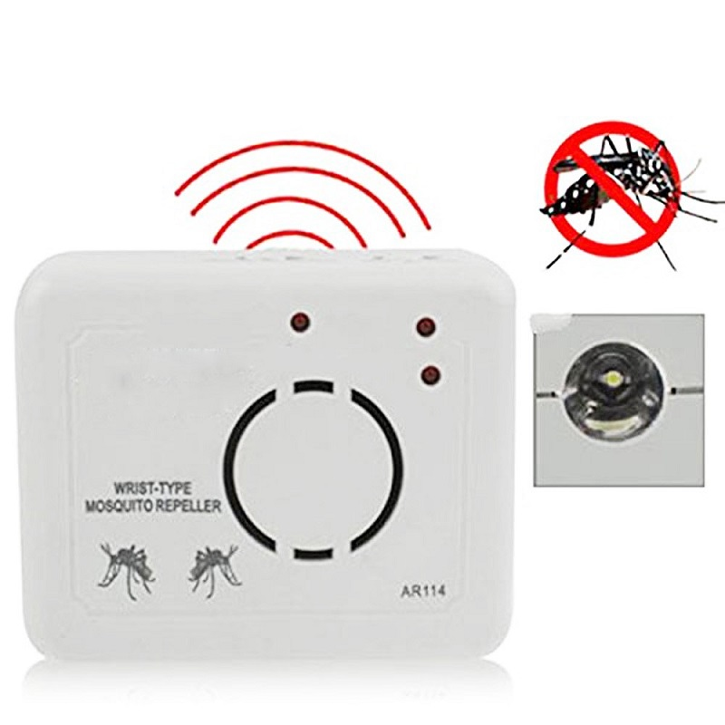Genuine AR114 wrist type ultrasonic mosquito repeller Pest Reject 100% Effective Safe Mosquitoes Rats Cockroaches Control