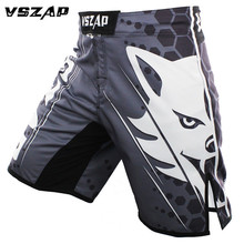 VSZAP MMA Fight Kick Boxing Shorts Cage Fight Grappling Muay Thai Boxing Kick boxing Martial Art Training Clothing Uniform(China)