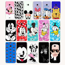 1761G cute Mickey Minnie Hard Case for Nokia Lumia 535 case cover coque for Lumia 535 case