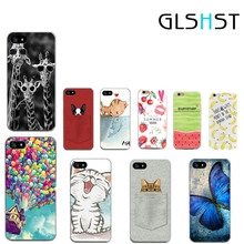 GLSHST Soft Silicon Printing Funy Cartoon Cover Cases For Apple iPhone 5 5S SE 6 6S 7 Plus Case Cell Phone Shell