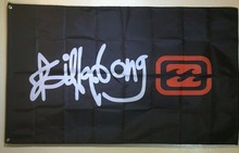 Billabong Logo Flag Banner Garage Man Cave Wall Decor Indoor Outdoor Banner High Quality Flag Custom flag Drop Shipping