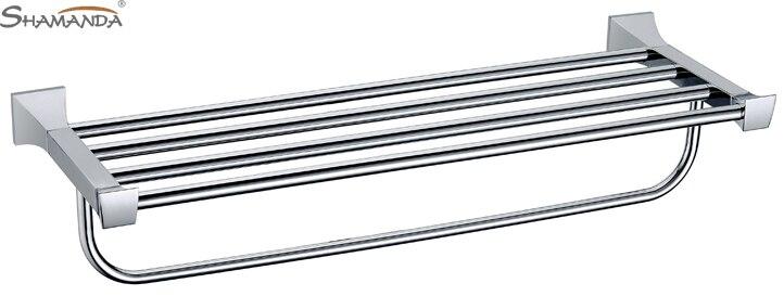 Free Shipping (60cm) bath towel rack/towel lever/towel shelf,Solid brass made,chrome finish,Bathroom Hardware-82010<br><br>Aliexpress