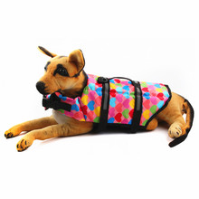 Anti-lost pet Dog Swimming Clothes Life Jacket dog Vest swimsuit Coat Life Preserver dog Swimwear Safety Clothing Reflective(China)
