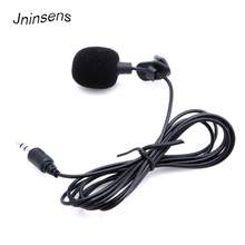 Mini 3.5mm Hands Free Clip on Mini Mic Microphone for PC Notebook Laptop(China)
