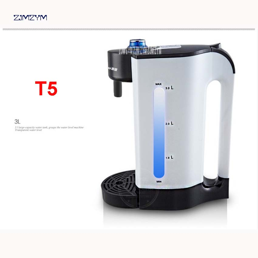 T5 220V Instant electric water intelligent kettle 100% automatic boiling water boiled no second fast warming repeat better than<br>