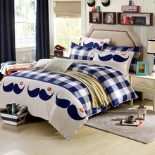 4 Pcs/Set Brand Color Matching Bedding Bed Sheet Duvet Cover Pillowcase Winter Cotton Bed Set Bedding Sets discount