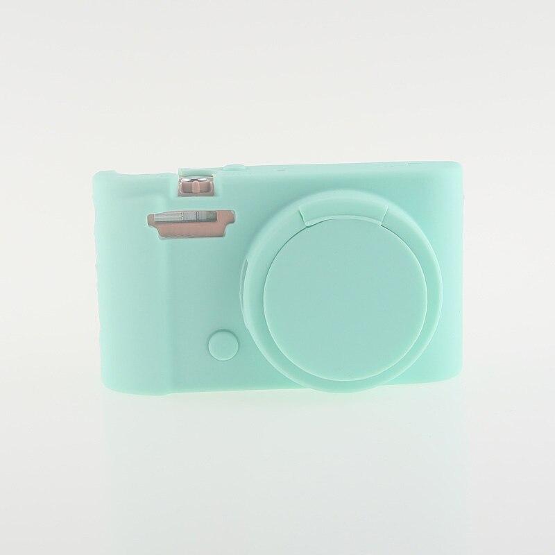Soft Silicone Rubber Camera Bag Protective Body Case for Casio ZR5000 5500 5300-2