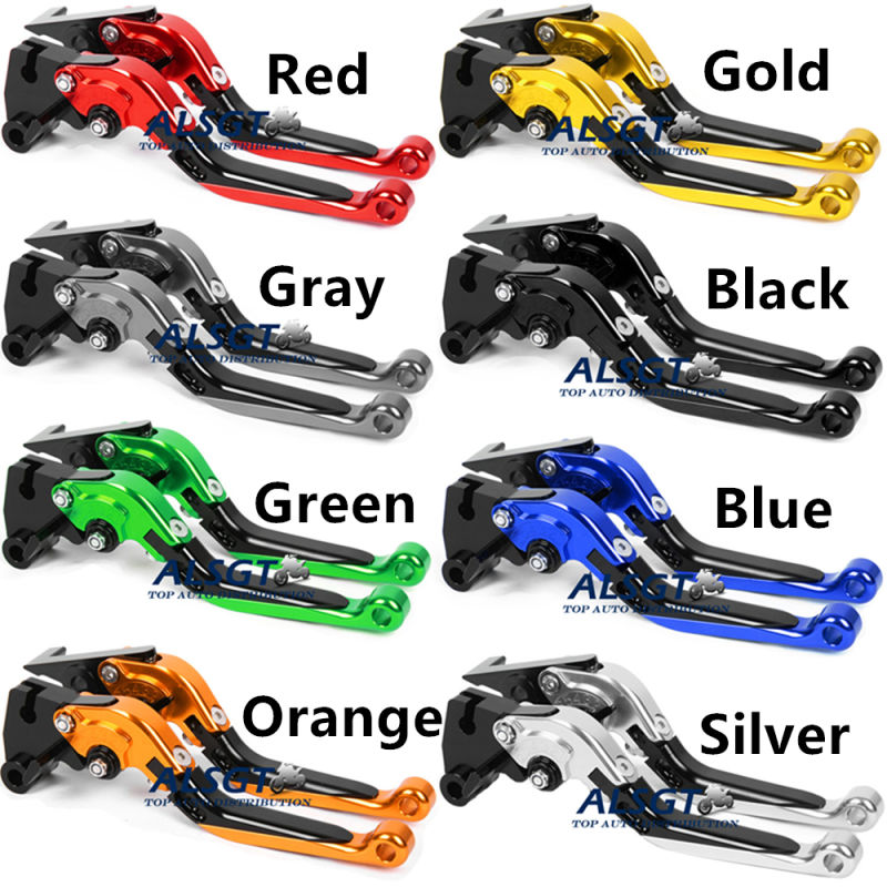 For Yamaha DT 50 (3MN)1989-1997/ DT50R (70K10/70K1A)2012-2013 Adjustable Motor Folding Extendable Clutch Brake Levers A Pair<br>