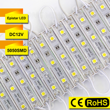 20pcs/lot For Sample SMD 5050 LED Modules Light IP65 DC 12V LED Lights 3 LEDs Channel Letter Sign Lighting