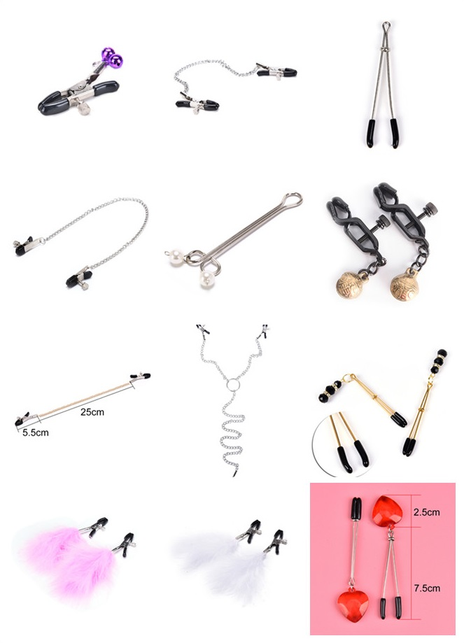 Woman Sexy Nipple Clamps Exotic Accessories Breast Clip Female Breast Nipple Clamps