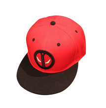 spring fashion Deadpool boy kids hats cartoon Comic Sports cap Brands Snapback Red baby boy girl hats fashion Sports Casual cap(China)
