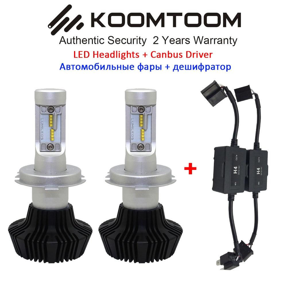 K7S H4 Led Car Headlight Bulb Canbus 9005 9006 9004 9007 H1 H3 H8 H11 H7 LED Car Bulb Headlight Hi/Lo Beam Bulb Canbus Light<br><br>Aliexpress