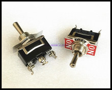 5pcs/Lot 3-Pin 3 Position ON-OFF-ON Spring Return Momentary Switch 15A 250VAC Toggle Switch 123F Brand New(China)