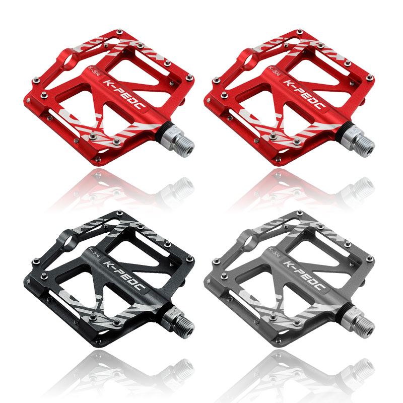 Bicycle Pedal Aluminum/Alloy Mountain Bike Pedals Road Cycling Sealed 3 Bearing Pedals BMX UltraLight bike Pedal Bicycle Parts<br><br>Aliexpress