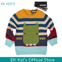 2017 New arrival fashion kids sweater christmas sweater 100% Cotton Wholesale(China)