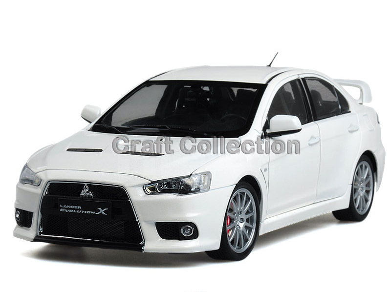 White 1:18 Mitsubishi Lancer EVO X 10th Generation Right Hand Driving Evolution Zinc Alloy Model Show Car Miniature Gifts<br><br>Aliexpress
