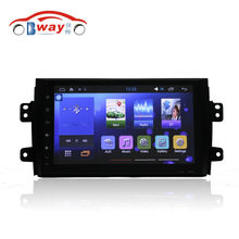 "Free shipping 9"" car radio for suzuki sx4 2006-2012 Quadcore Android 6.0 car dvd player with 1 G RAM,16G iNand,steering wheel(China)"