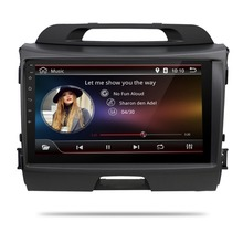4G 1024*600 Android 6.0 car dvd player KIA sportage r 2011 2012 2013 2014 2015 car pc head unit gps navigation 2 din car stereo