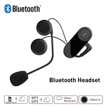 New BT Motorcycle Helmet Bluetooth Headset Earphone Headphone For Phone/GPS/MP3 Without Intercom Function