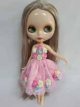 Toys gift Blyth doll ,Free shipping Joint body doll(China)