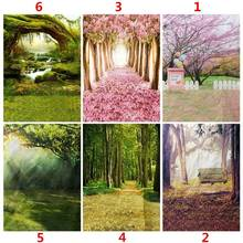 5x7FT Spring Theme Floral Decorative Fabric Cloth Studio Props Photography Background Cloth Indoor Outdoor Party Weddding Decor(China)