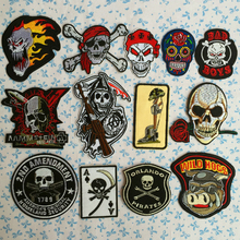 10pcs angel of hell,king of the road, Harley knight, the clothes patch, badge