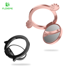 FLOVEME Metal Phone Holder Stand Finger Pop Ring Lover Phone Support Accessories For iPhone Samsung Xiaomi Stand Holders Luxury(China)