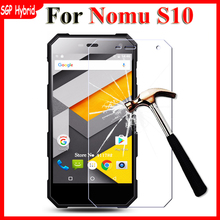Tempered Glass For NOMU S10 Screen Protector Film Anti-Explosion 9H 2.5D Protective Films Case Cover For NOMU S10 S 10 Glass(China)
